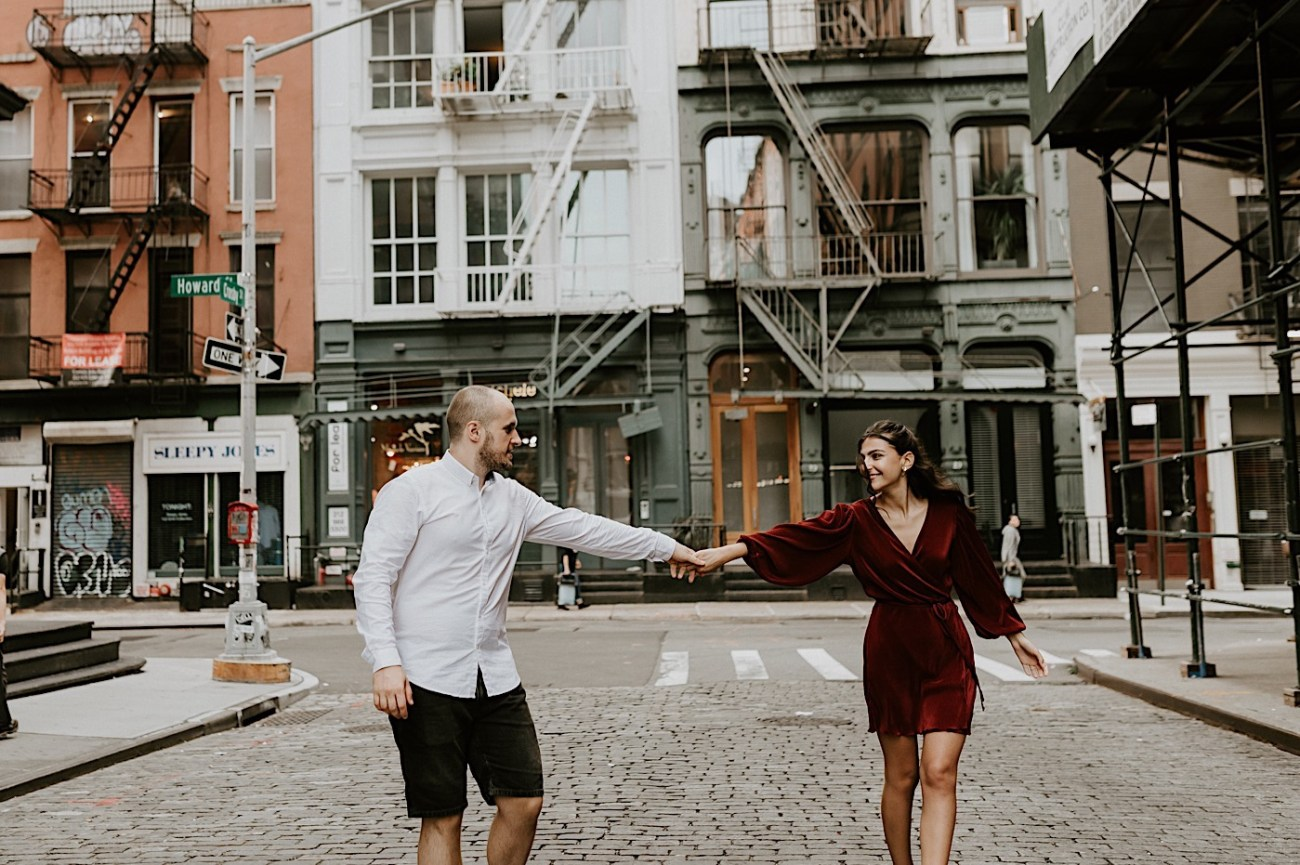 Soho Engagement Session NYC Wedding Photographer Manhattan Engaegement Locations 21