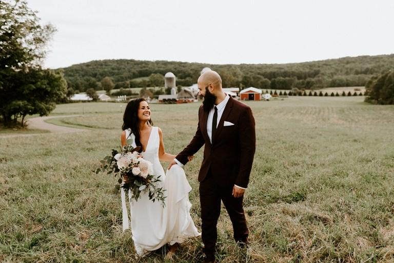 Gilbertsville Farmhouse Wedding Barn Wedding New York Catskill Wedding
