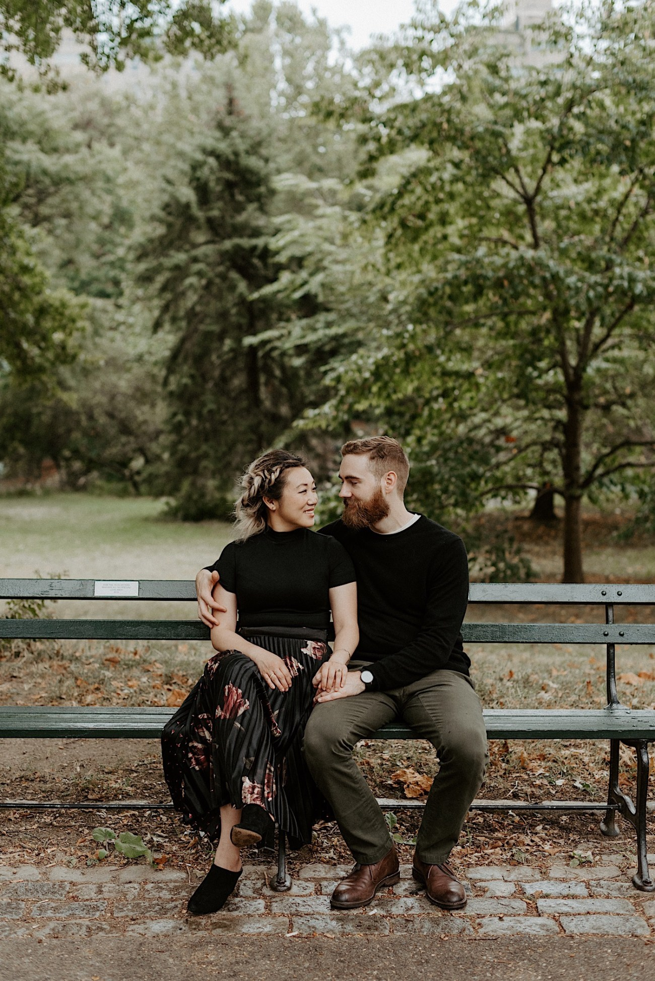 Central Park Engagement Session New York Wedding Photographer 02