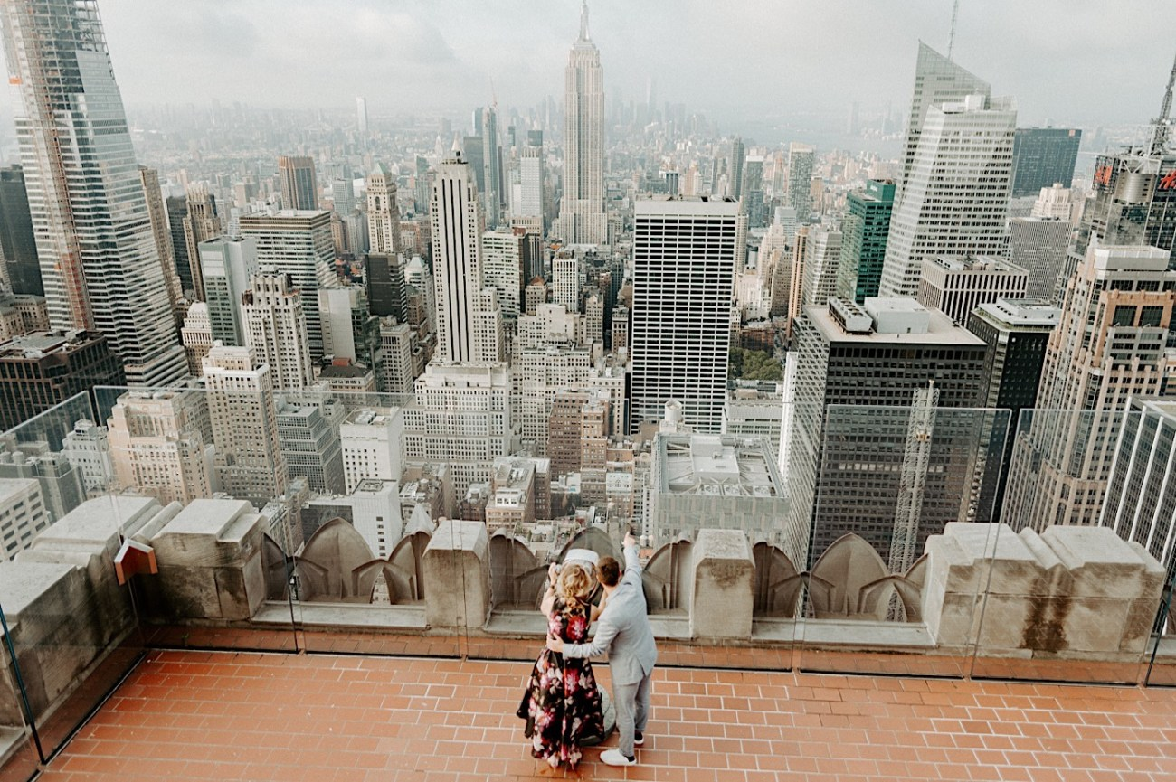 Top Of The Rock Engagement Session NYC Engagement Locations New York Wedding Photographer 03