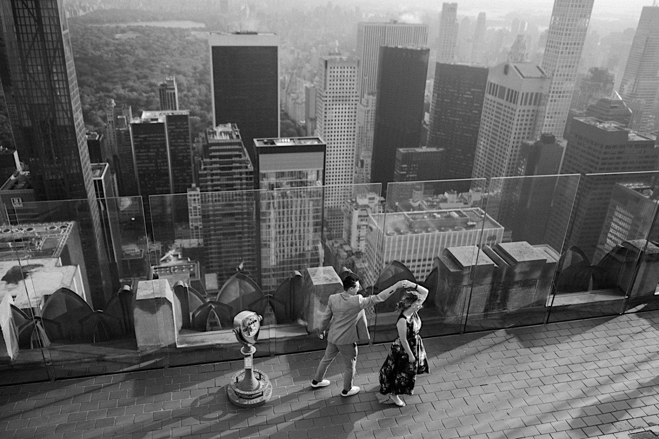 Top Of The Rock Engagement Session NYC Engagement Locations New York Wedding Photographer 05