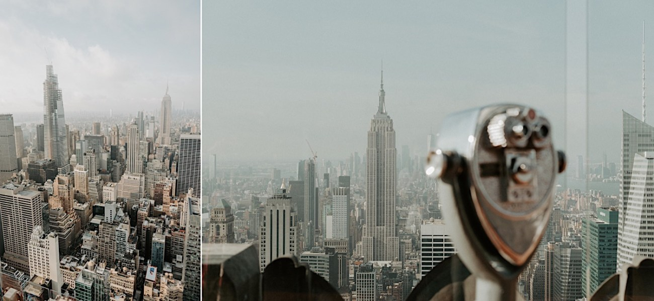 Top Of The Rock Engagement Session NYC Engagement Locations New York Wedding Photographer 10