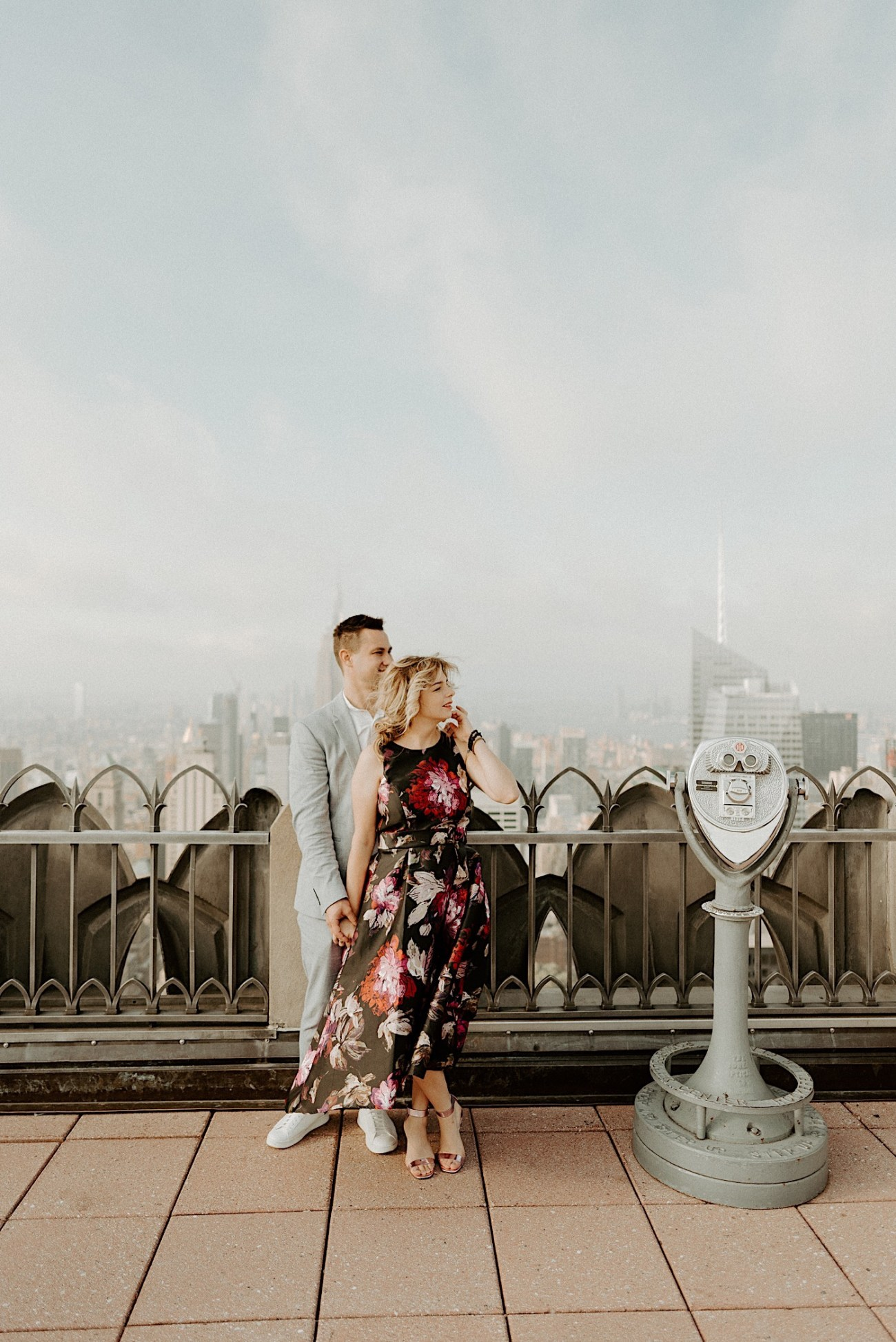 Top Of The Rock Engagement Session NYC Engagement Locations New York Wedding Photographer 13