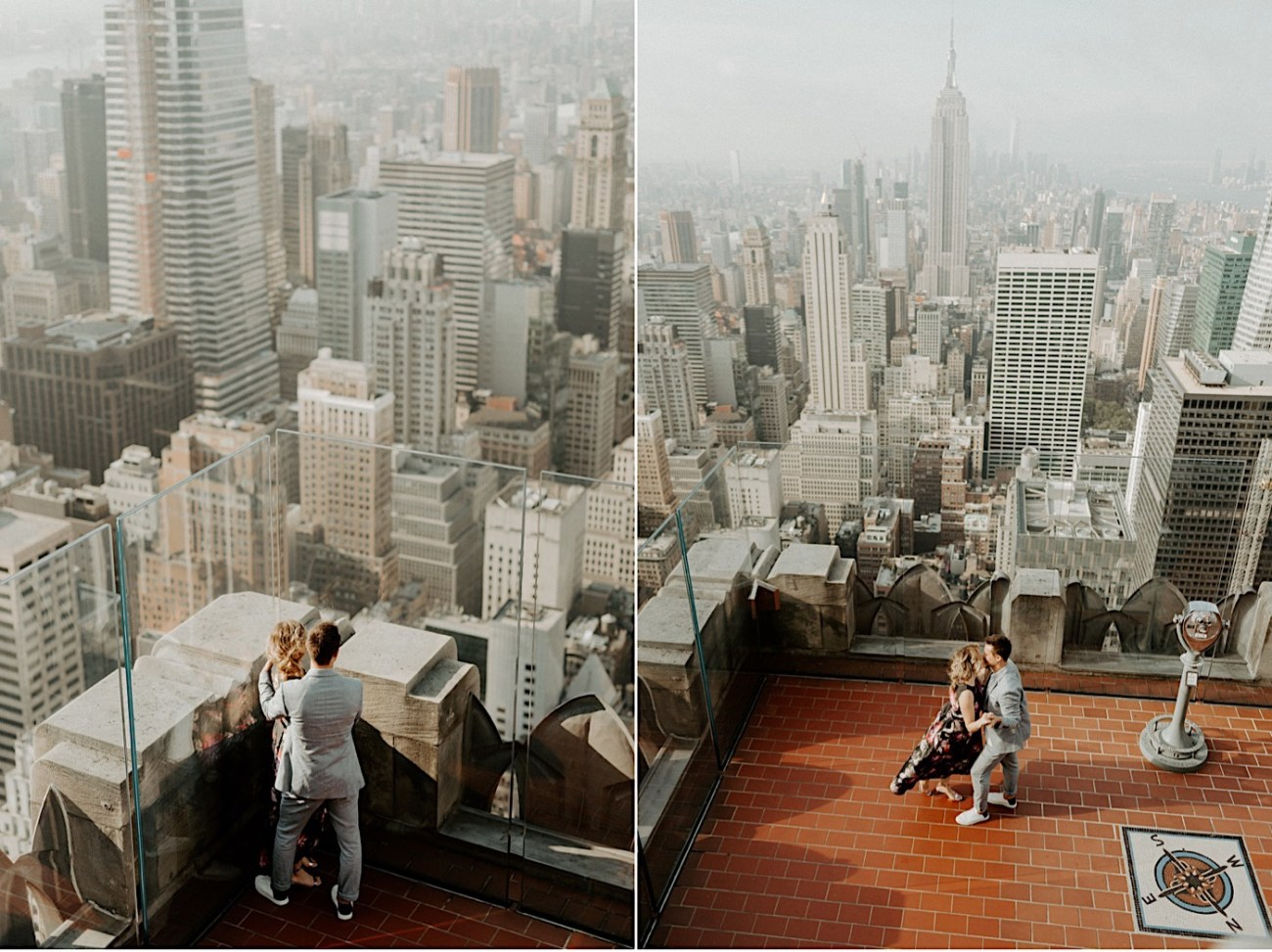 Top Of The Rock Engagement Session NYC Engagement Locations New York Wedding Photographer 18