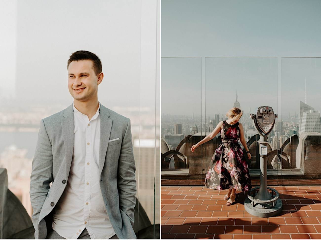 Top Of The Rock Engagement Session NYC Engagement Locations New York Wedding Photographer 21