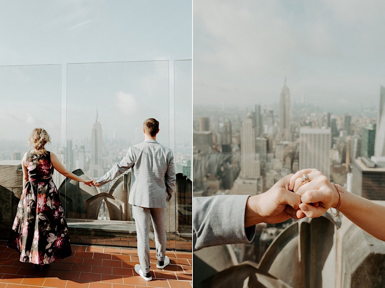 Top Of The Rock Engagement Session NYC Engagement Locations New York Wedding Photographer 23