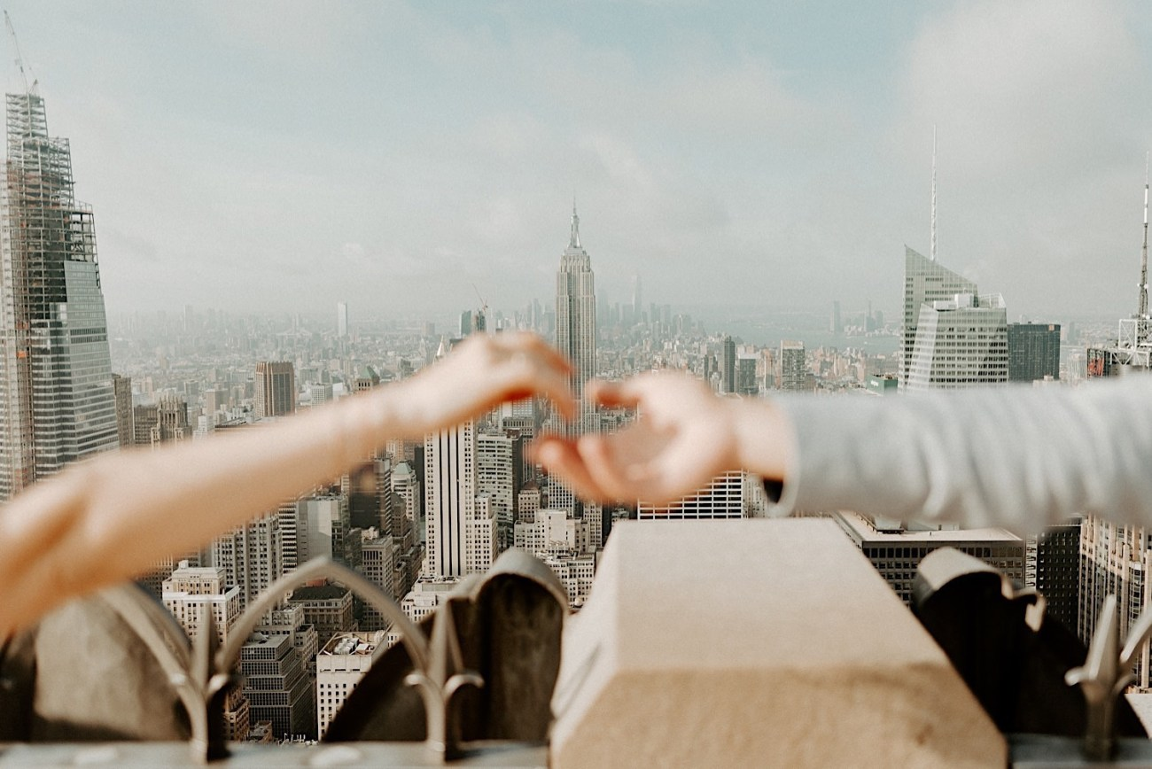 Top Of The Rock Engagement Session NYC Top Locations For Engagement Session New York Wedding Photographer 38