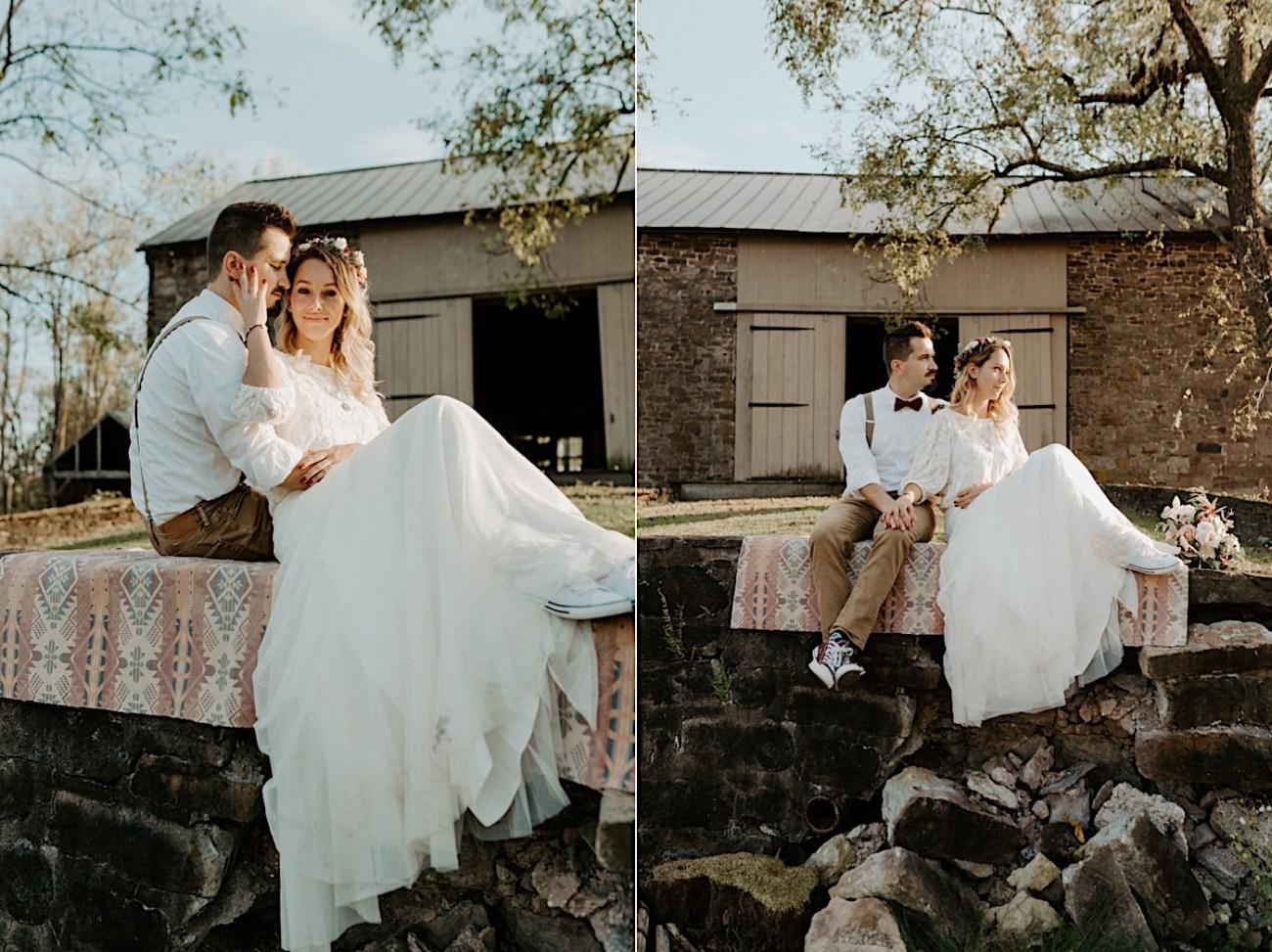 Woolverton Inn Elopement NJ Wedding Photographer Boho Wedding 028