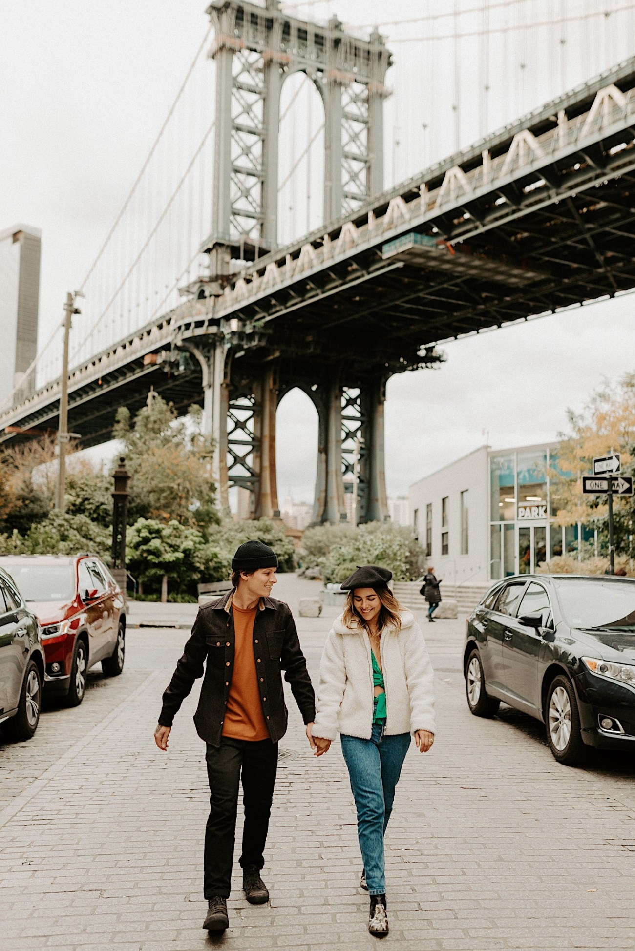 Dumbo Engagement Session New York Wedding Photographer 001