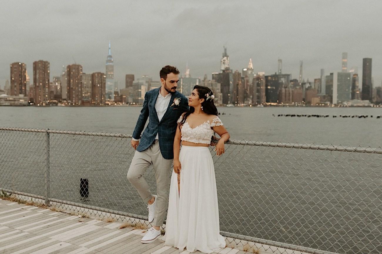 LIC Wedding Greenpoint Wedding LIC Elopement New York Wedding Photographer 067