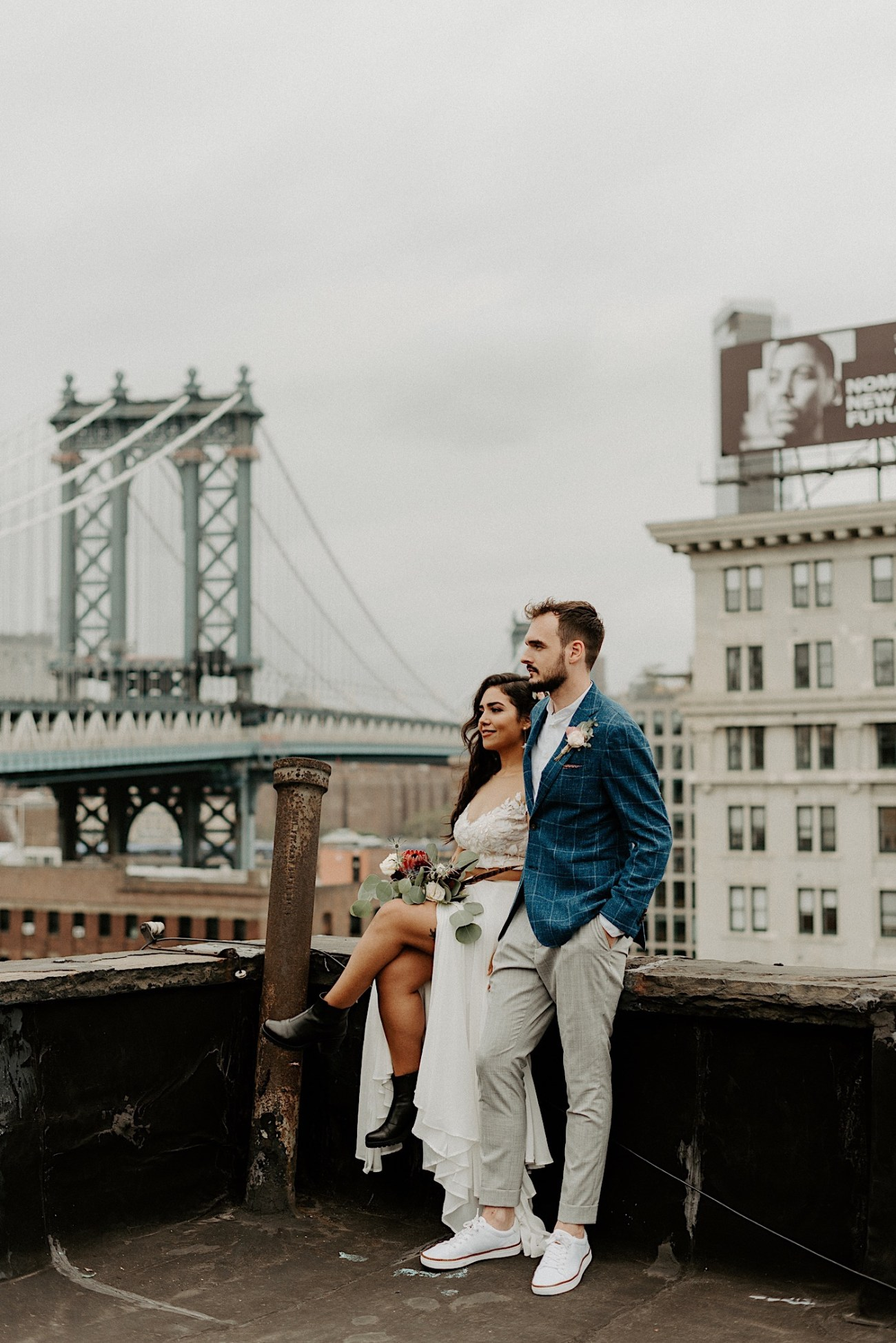 LIC Wedding Greenpoint Wedding LIC Elopement New York Wedding Photographer 082