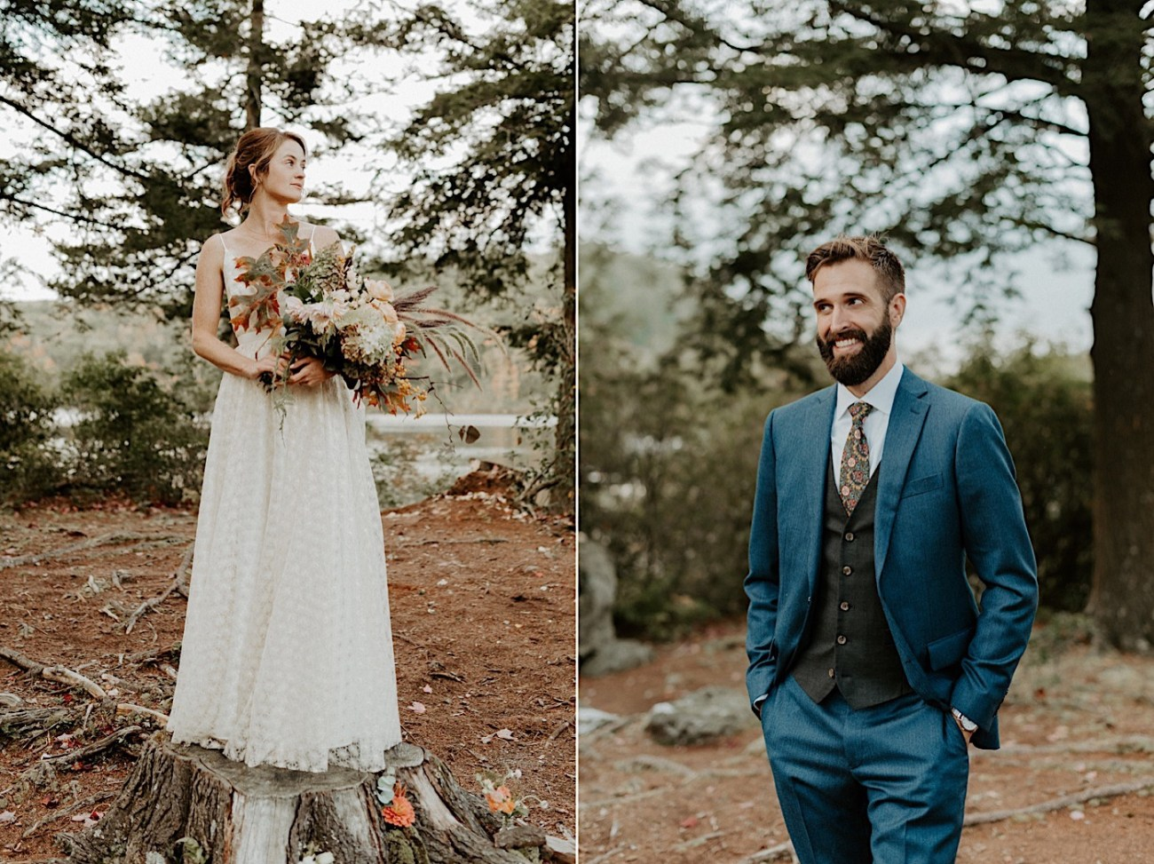 Massachusetts Wedding Photographer Boston Wedding Photographer Outdoor Mountain Wedding 071