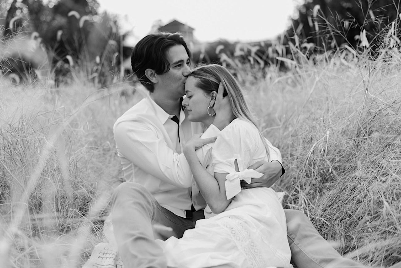 Fall Golden Field Enagement Session New Jersey Wedding Photographer 03