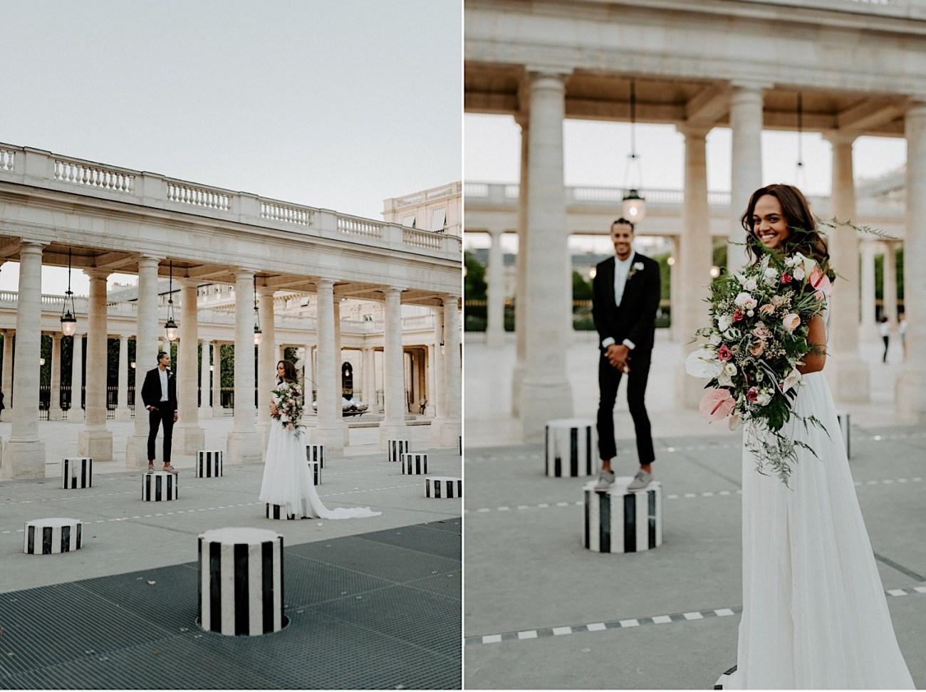 Paris Louvre Wedding Photos Paris Wedding Photographer Destination Wedding France Anais Possamai Photography 09