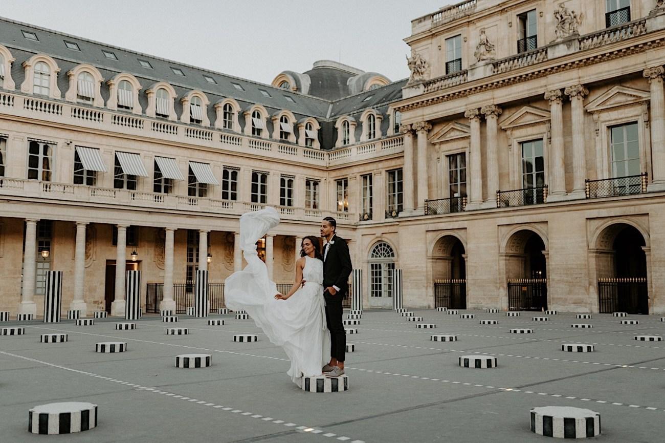 Paris Louvre Wedding Photos Paris Wedding Photographer Destination Wedding France Anais Possamai Photography 13