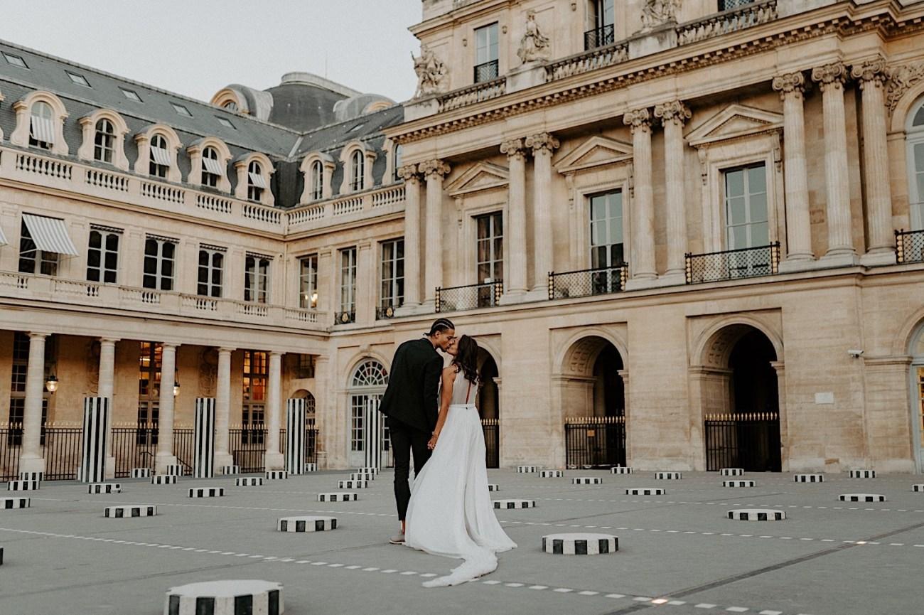 Paris Louvre Wedding Photos Paris Wedding Photographer Destination Wedding France Anais Possamai Photography 16