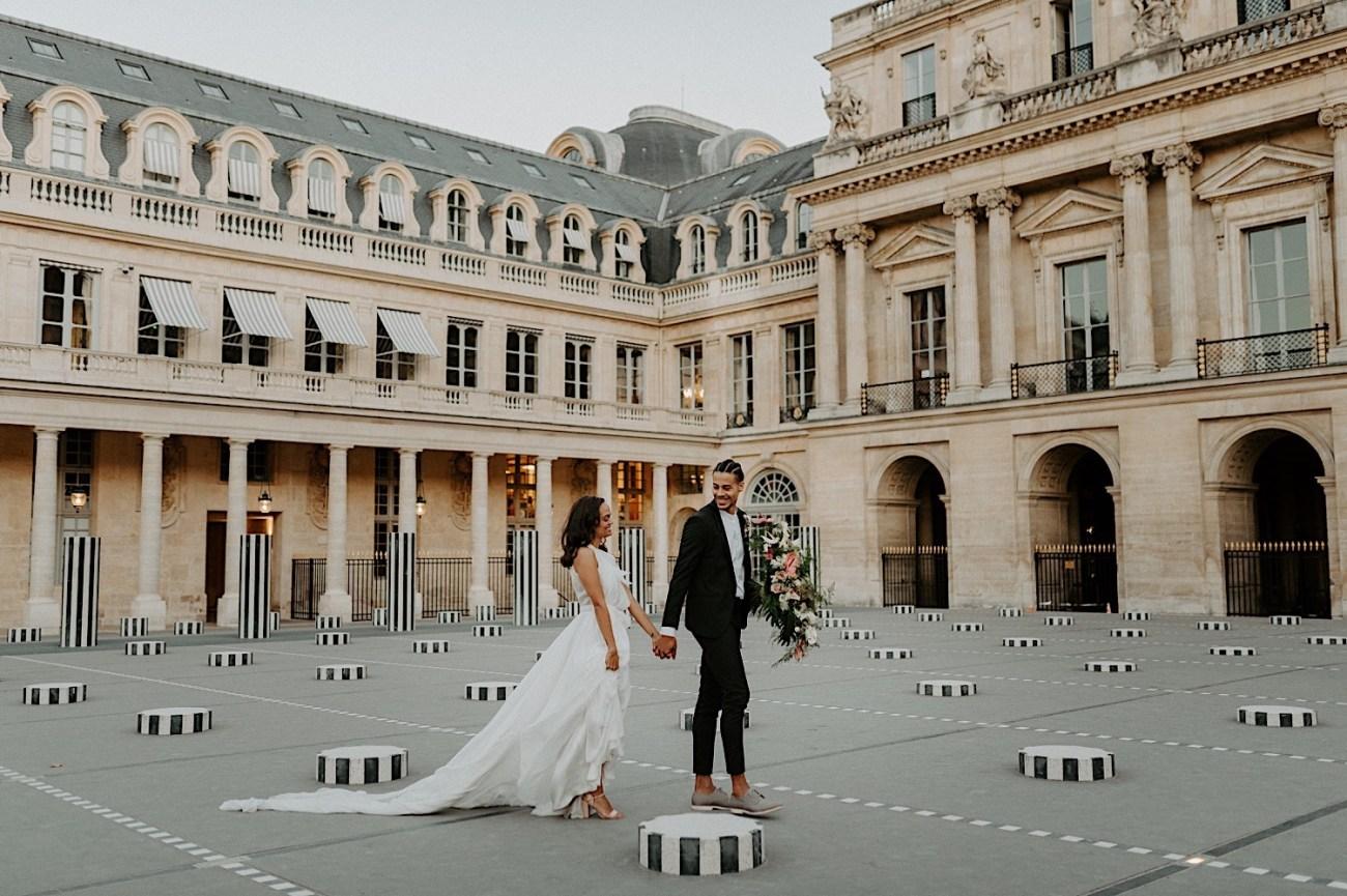 Paris Louvre Wedding Photos Paris Wedding Photographer Destination Wedding France Anais Possamai Photography 17