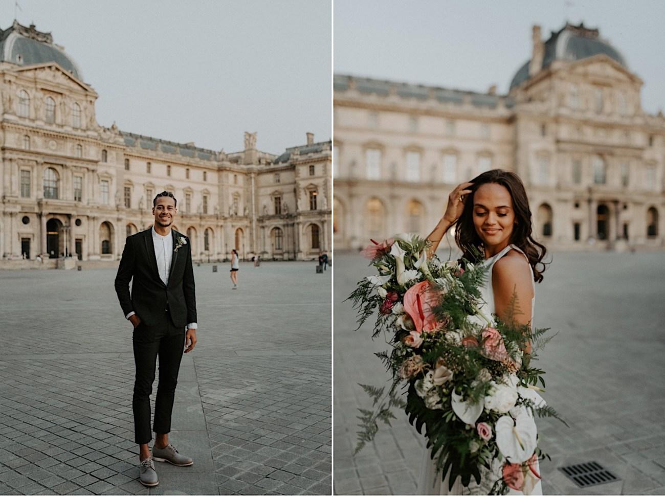 Paris Louvre Wedding Photos Paris Wedding Photographer Destination Wedding France Anais Possamai Photography 36