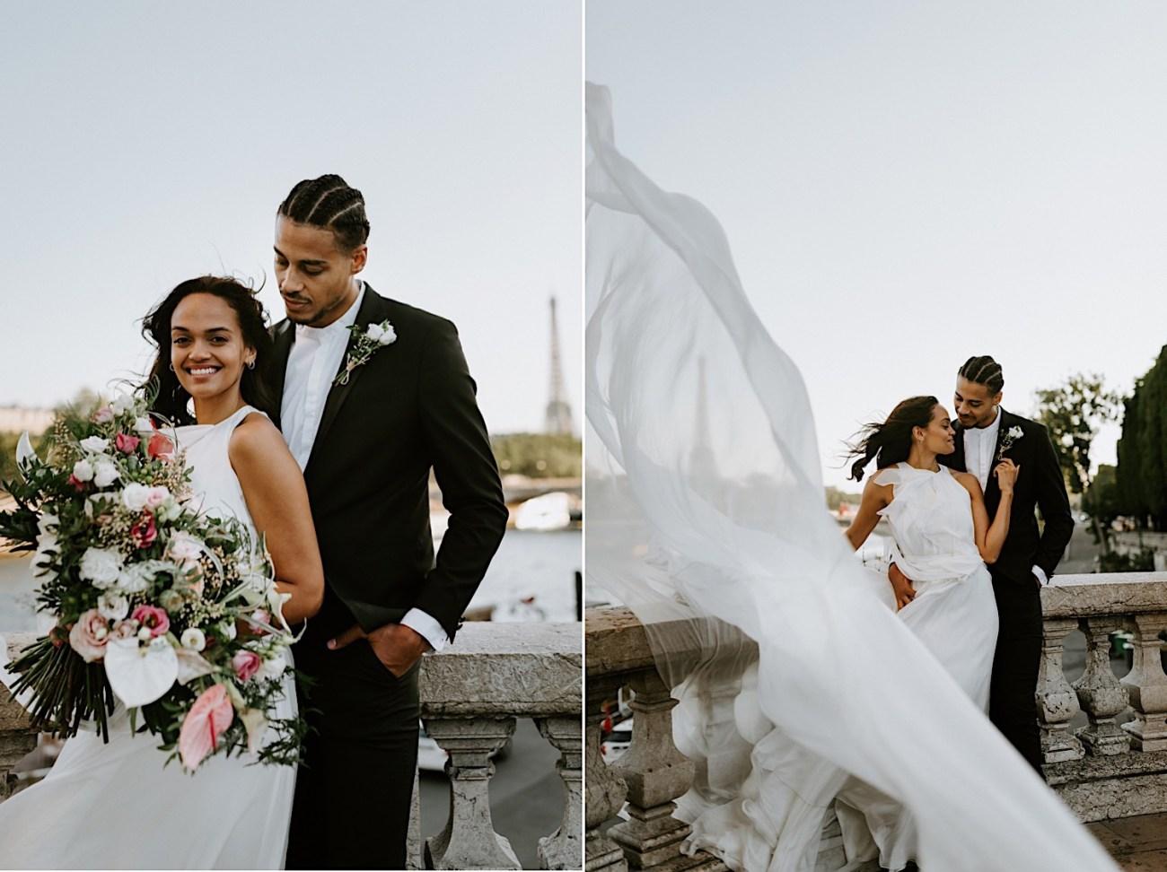 Paris Wedding Photos Paris Wedding Photographer Paris Photographe De Marriage Pont Alexandre Wedding Photos Anais Possamai Photography 17