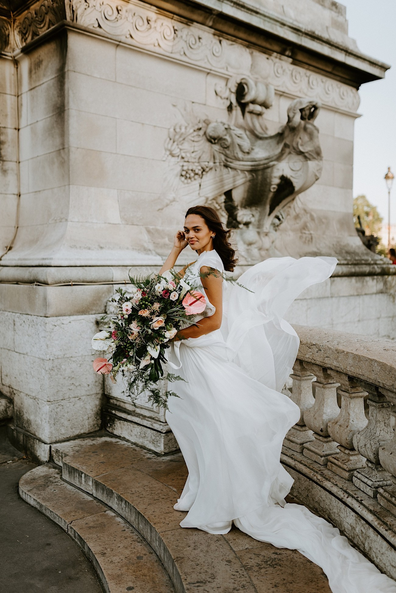 Paris Wedding Photos Paris Wedding Photographer Paris Photographe De Marriage Pont Alexandre Wedding Photos Anais Possamai Photography 23