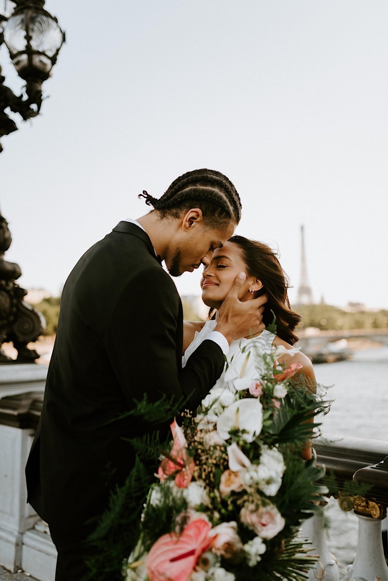 Paris Wedding Photos Paris Wedding Photographer Paris Photographe De Marriage Pont Alexandre Wedding Photos Anais Possamai Photography 29