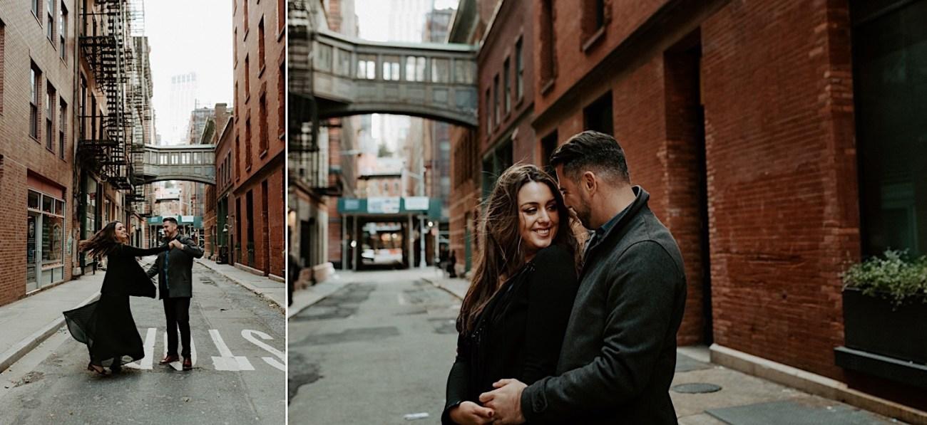Tribeca Engagement Session NYC Engagement Photos New York Wedding Photographer 04