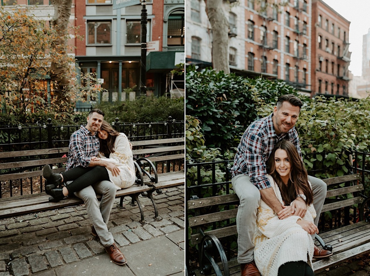 Tribeca Engagement Session NYC Engagement Photos New York Wedding Photographer 13