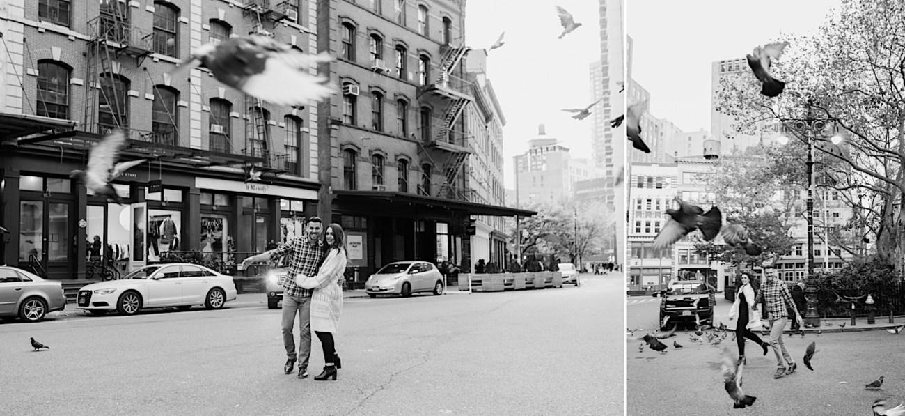 Tribeca Engagement Session NYC Engagement Photos New York Wedding Photographer 15