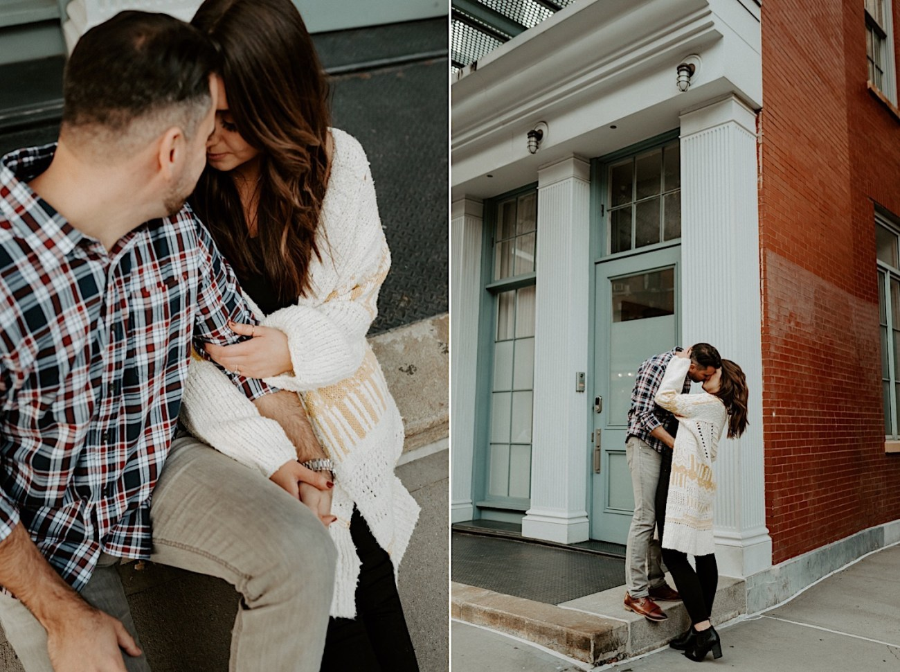 Tribeca Engagement Session NYC Engagement Photos New York Wedding Photographer 19