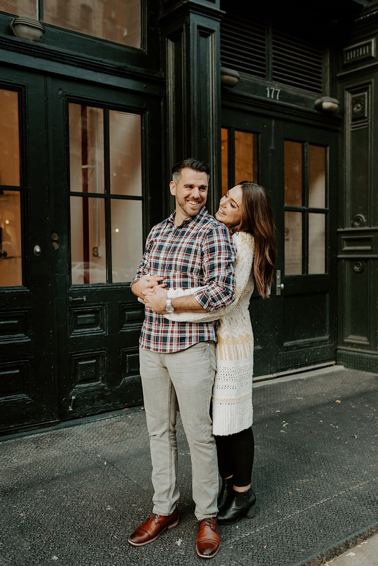 Tribeca Engagement Session NYC Engagement Photos New York Wedding Photographer 25
