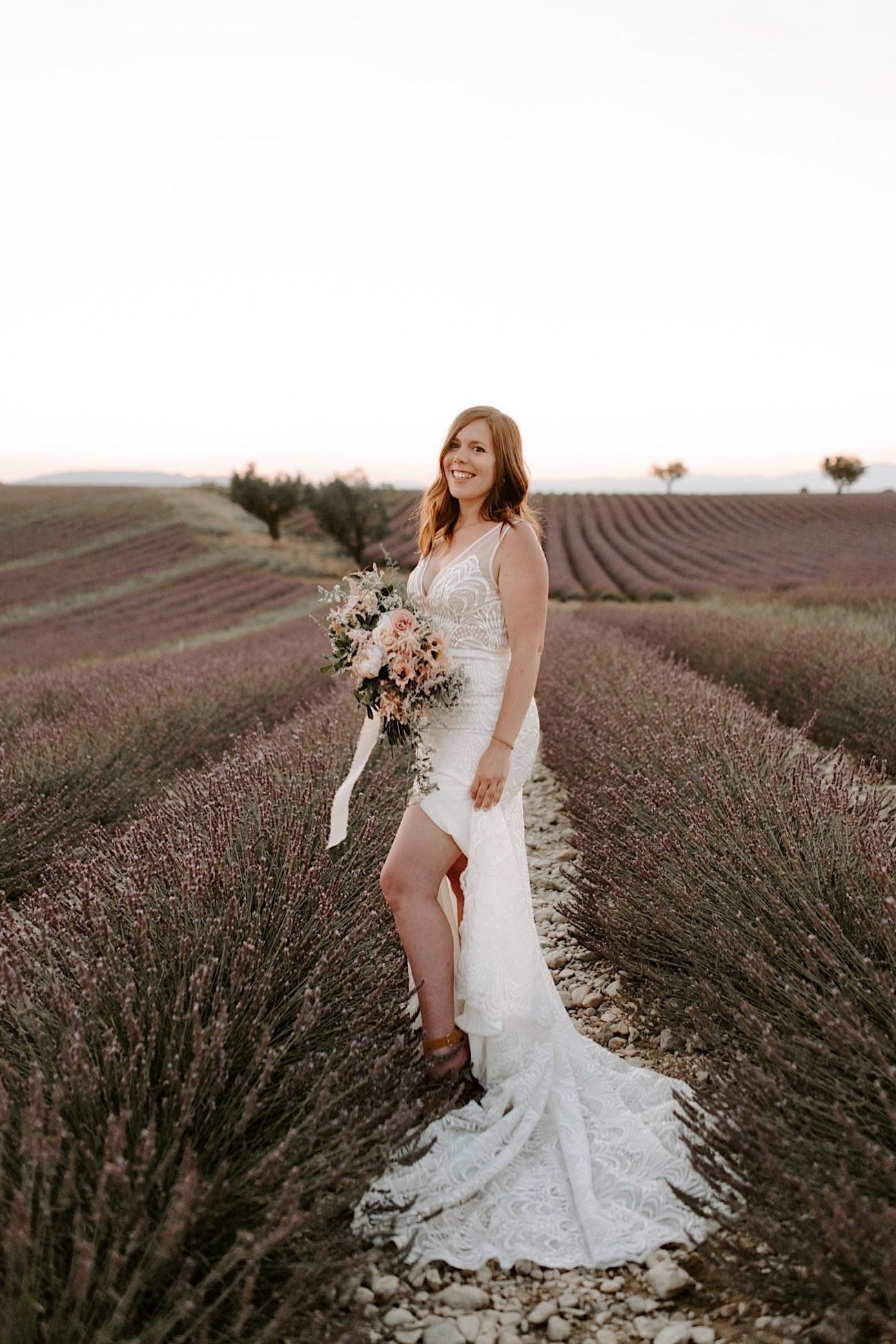 Valensole Wedding Photos Lavender Field Wedding Provence Wedding French Wedding Photographer Destination Wedding France Anais Possamai Photography 09