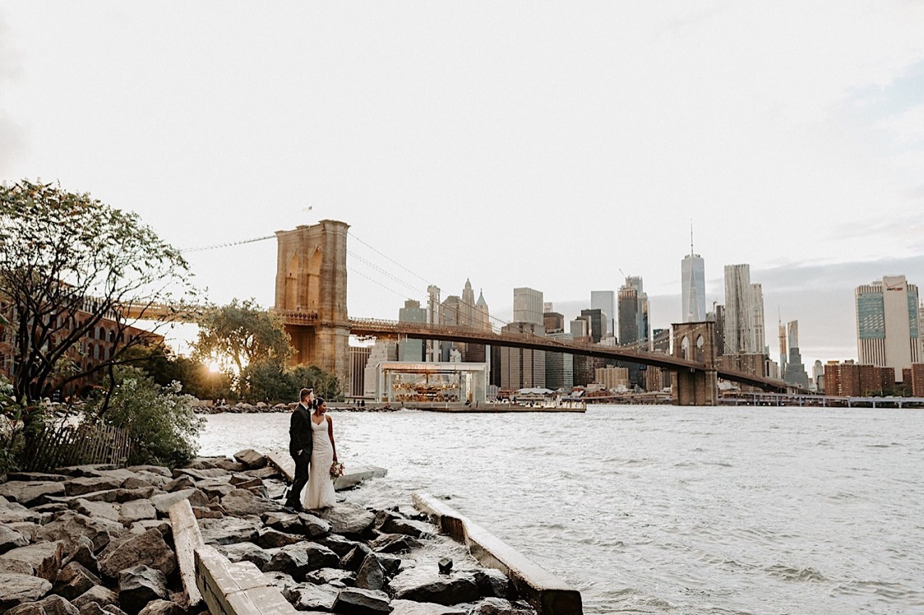 044 Brooklyn Dumbo Elopement Brooklyn Wedding Photographer NYC Wedding Destination Elopement