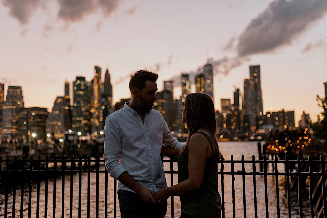 052 Brooklyn Bridge Engagement Photos Brooklyn Engagement Session NYC Wedding Photographer Engagement Ring