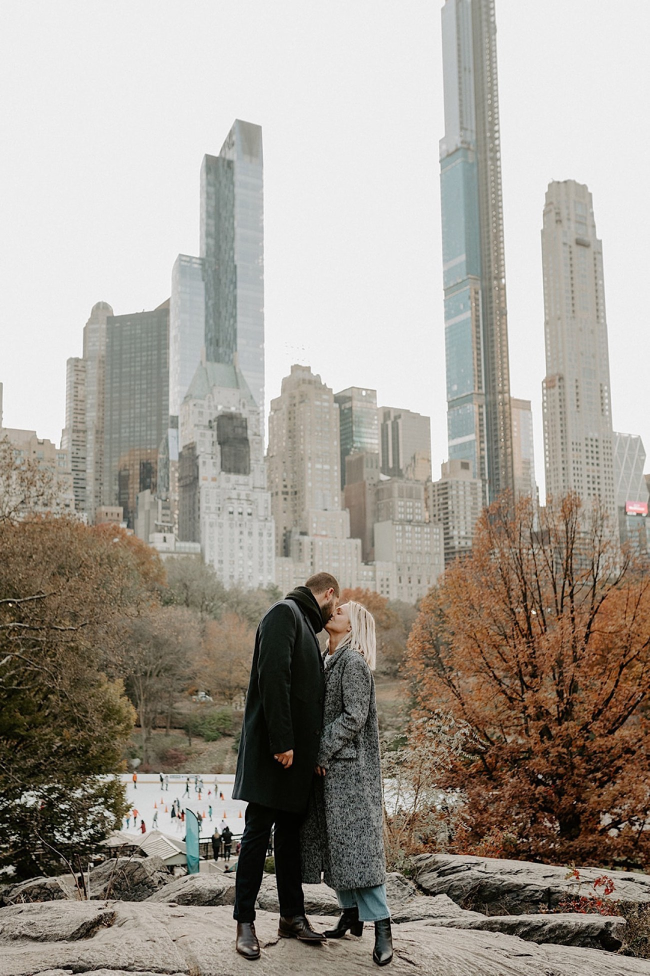095 Central Park Enagement Photos Bethesda Terrace Engagement Photos New York Wedding Photographer