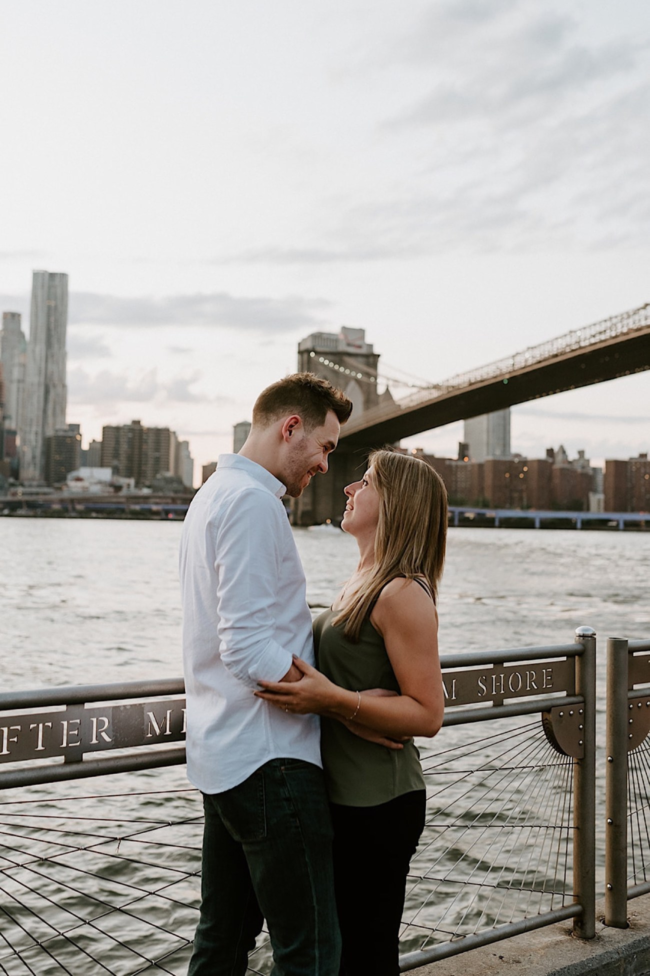 103 Brooklyn Bridge Engagement Photos Brooklyn Engagement Session NYC Wedding Photographer