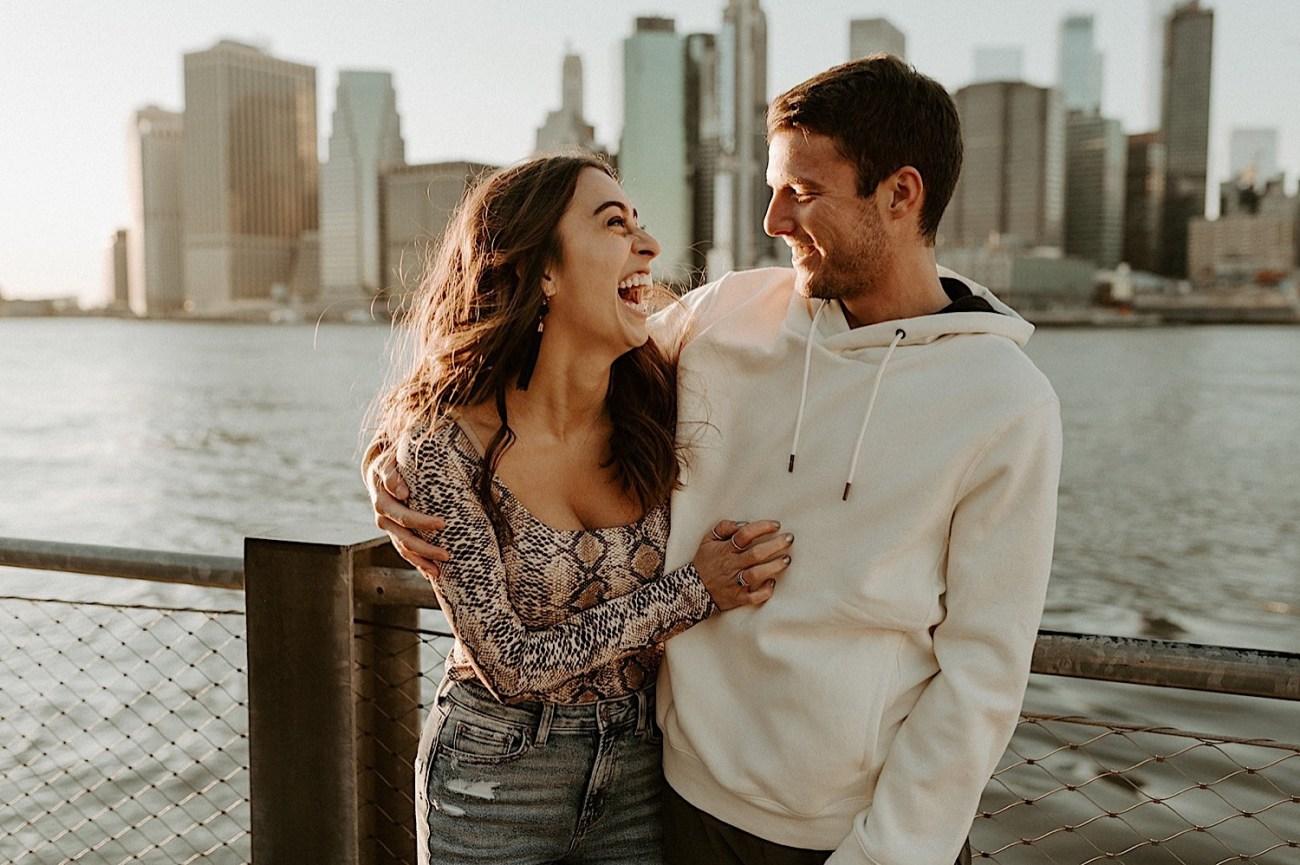 158 Brooklyn Bridge Engagement Photos Brooklyn Engagement Session NYC Wedding Photographer