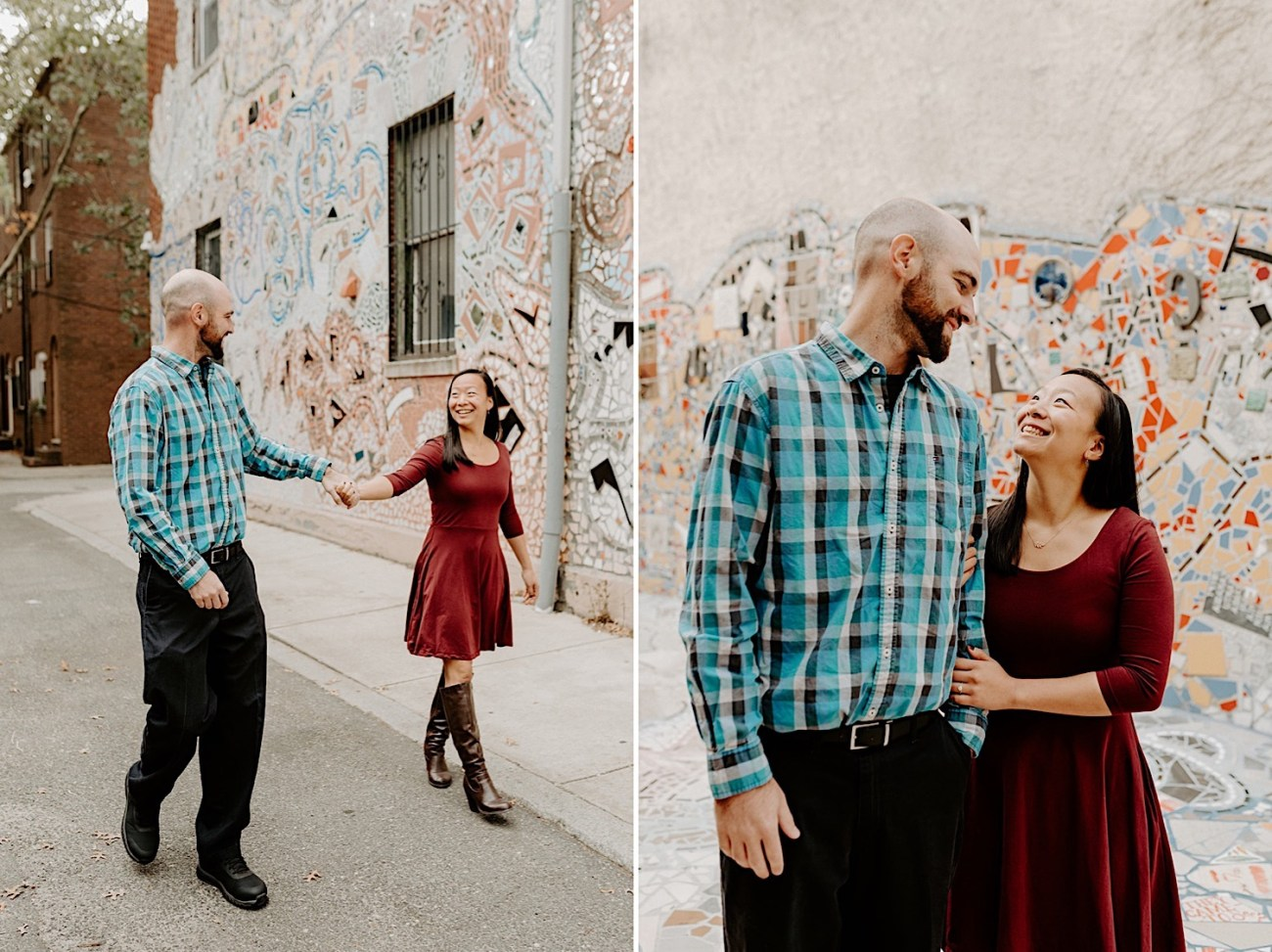165 Magic Garden Philadelphia Engagement Photos Philadelphia Wedding Photographer