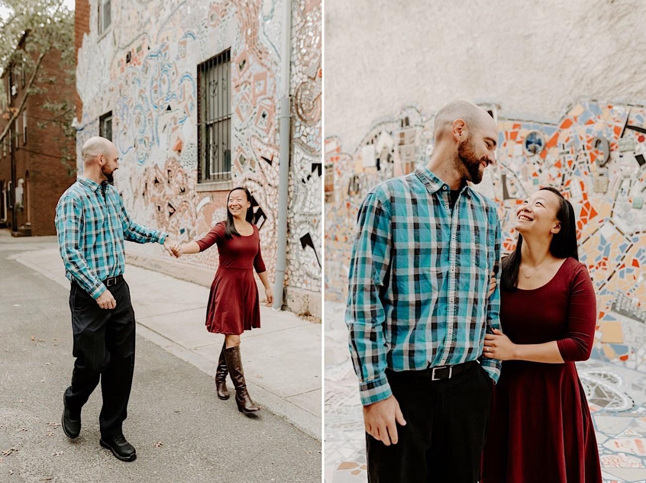 165 Magic Garden Philadelphia Engagement Photos Philadelphia Wedding Photographer
