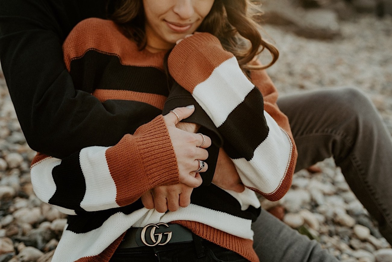 Dumbo Brooklyn Couple Session New York Wedding Photographer Fall Engagement Session NYC Engagement Photos 007