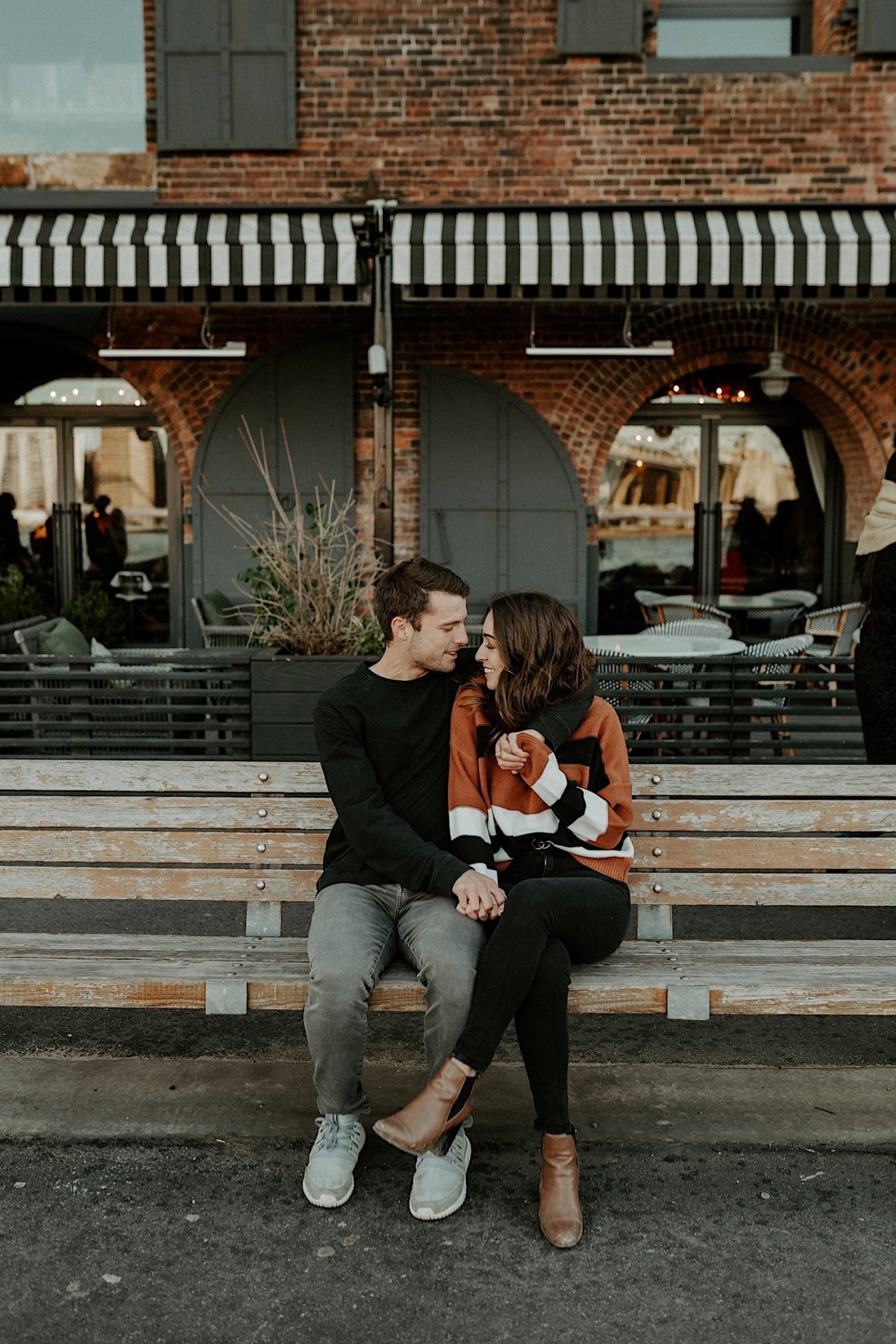 Dumbo Brooklyn Couple Session New York Wedding Photographer Fall Engagement Session NYC Engagement Photos 010