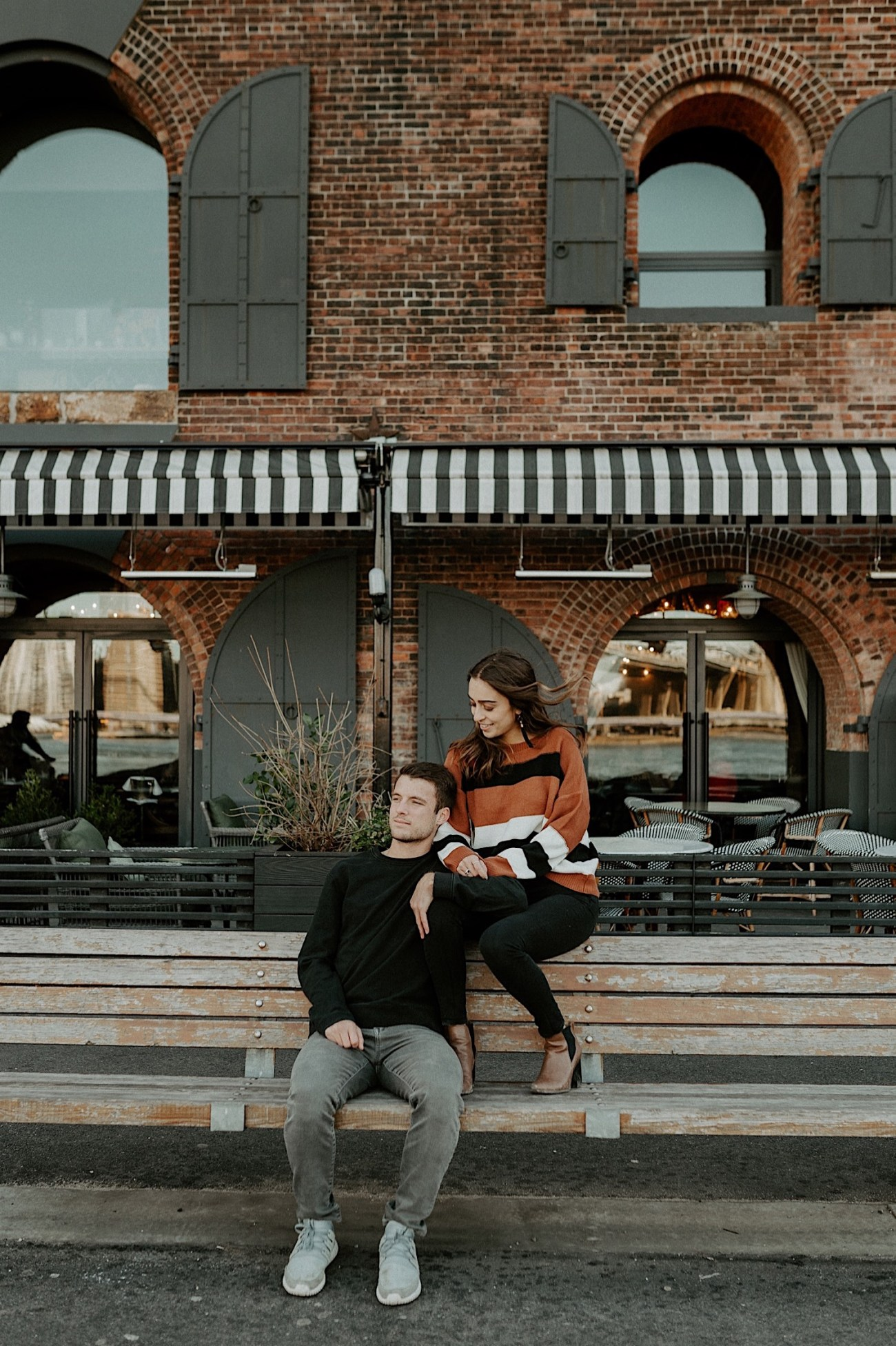 Dumbo Brooklyn Couple Session New York Wedding Photographer Fall Engagement Session NYC Engagement Photos 013