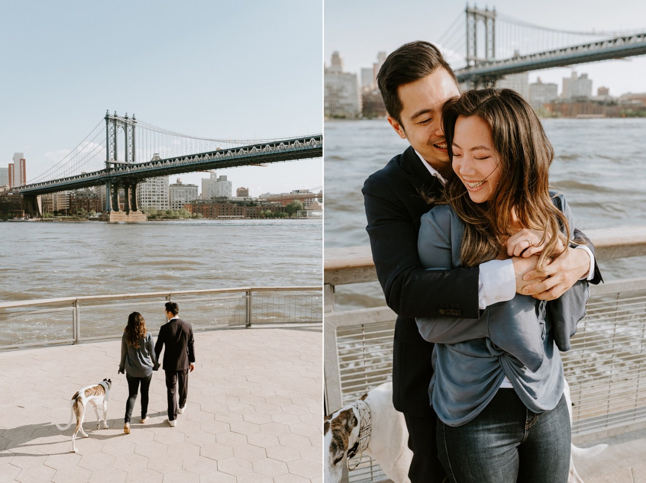 New York City Proposal NYC Wedding Photographer Downtown Manhattan Engagement Session 1