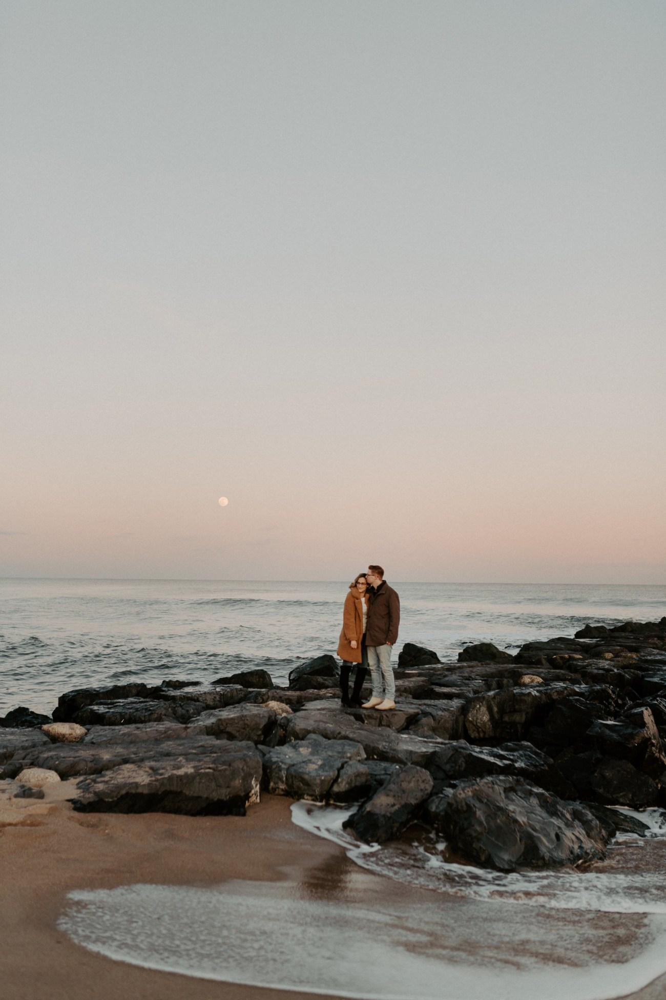 Asbury Park Engagement Photos Winter Beach Engagement Session New Jersey Wedding Photographer Anais Possamai Photography 040