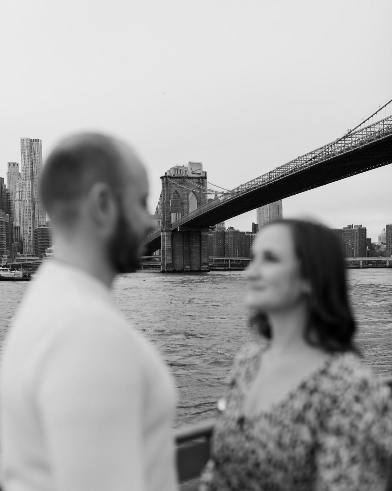 Brooklyn Bridge Engagement Photos Brooklyn Dumbo Couple Session NYC Wedding Photographer Anais Possamai Photography 03