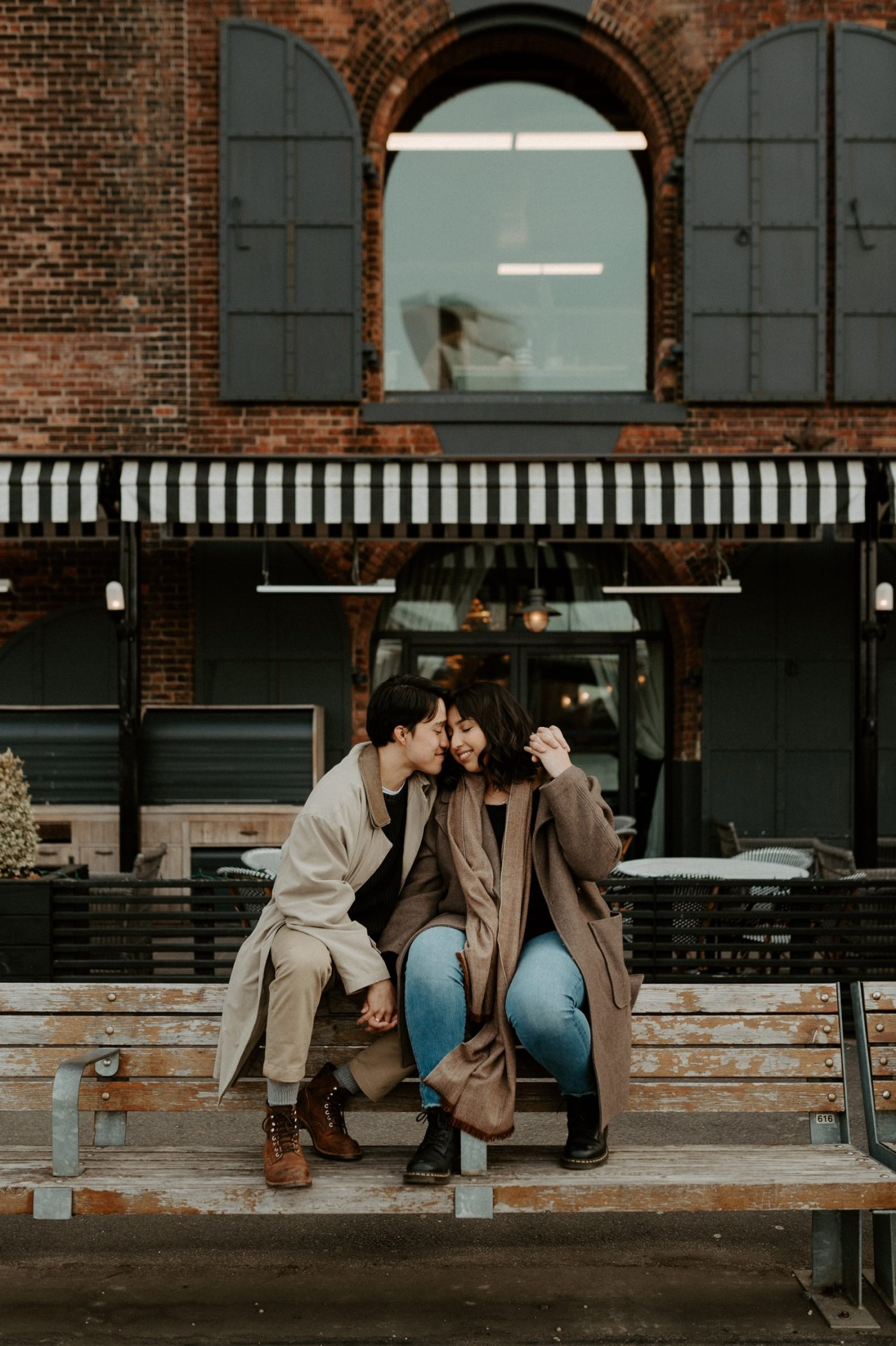 Dumbo Brooklyn Engagement Photos New York City Couple Session New York Wedding Photographer NYC Best Engagement Photos Location Anais Possamai Photography 26