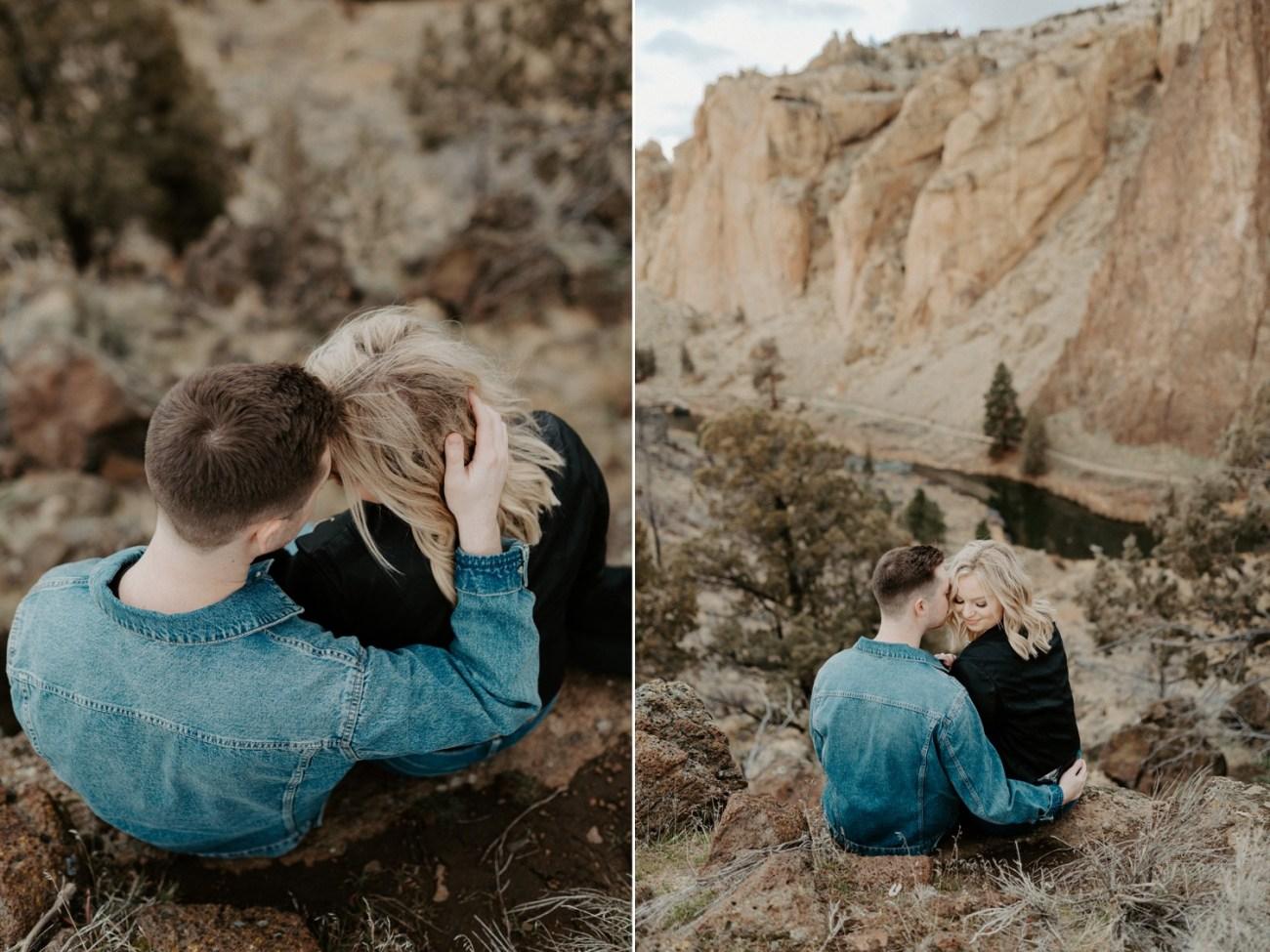 Oregon Smith Rock State Park Couple Session PNW Elopement Photographer Bend Wedding Photographer Portland Wedding Photographer Anais Possamai Photo 019
