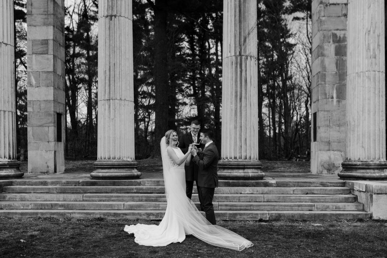 Princeton Battlefield Wedding Princeton University Elopement New Jersey Wedding Photographer Anais Possamai Photography 15