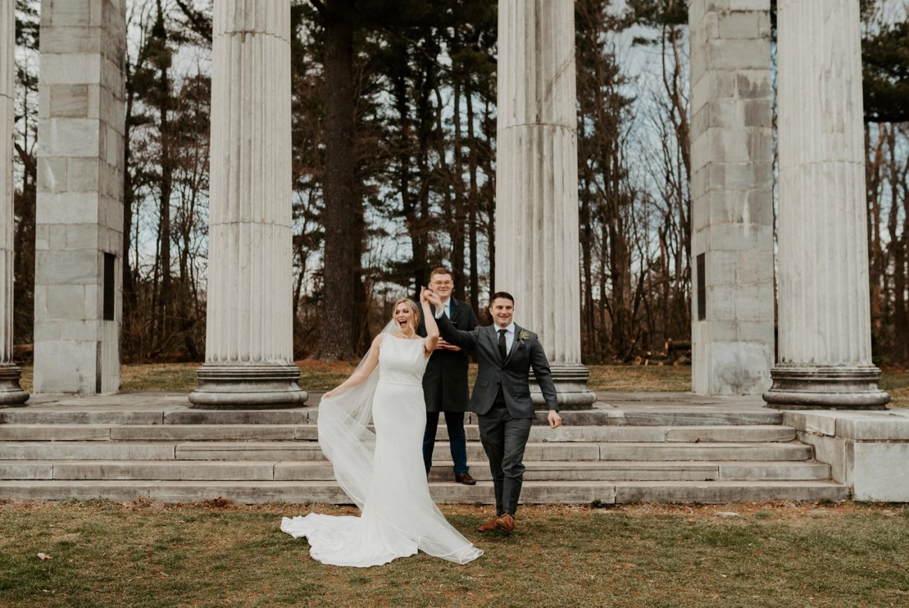 Princeton Battlefield Wedding Princeton University Elopement New Jersey Wedding Photographer Anais Possamai Photography 17