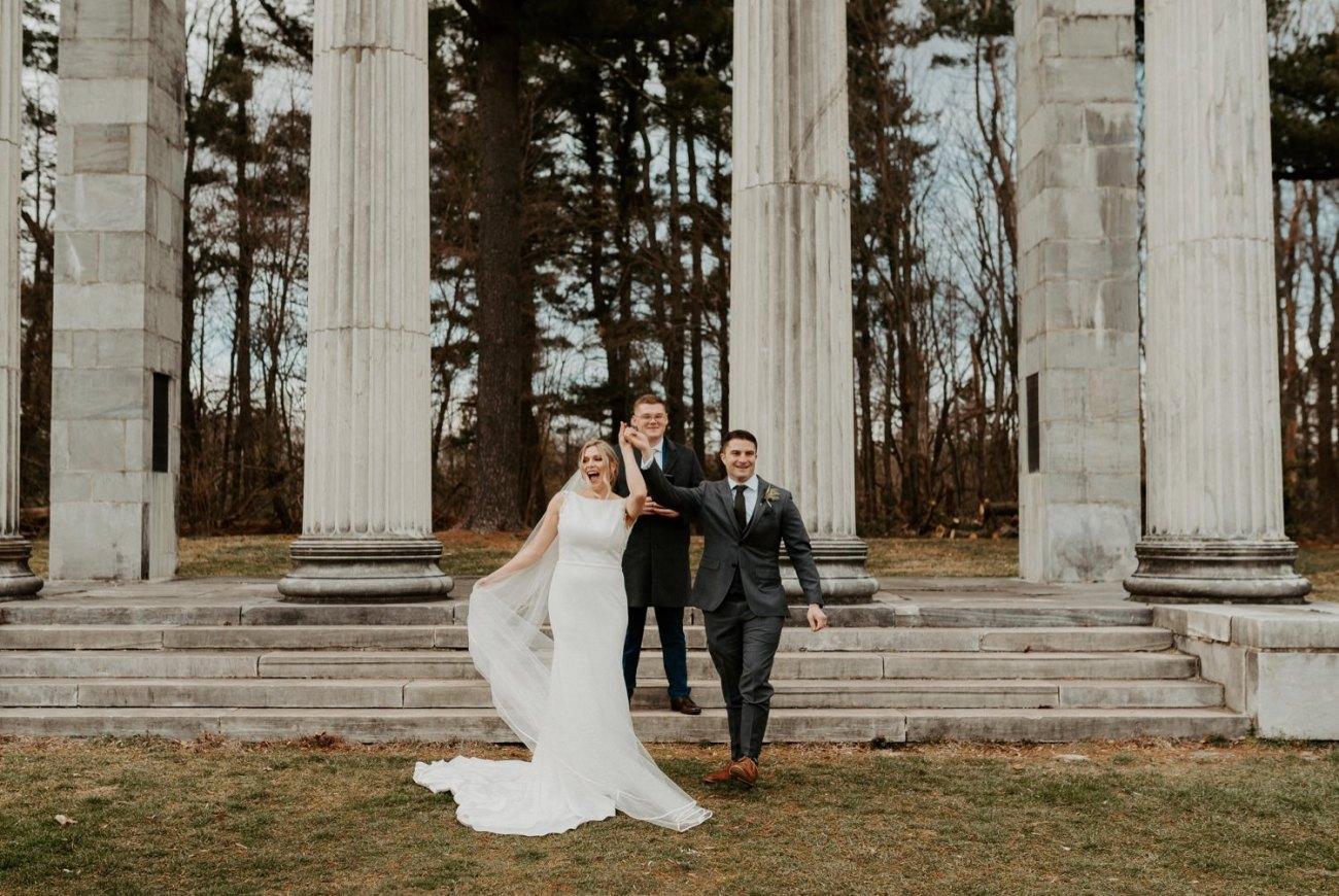 Princeton Battlefield Wedding Princeton University Elopement New Jersey Wedding Photographer Anais Possamai Photography 17