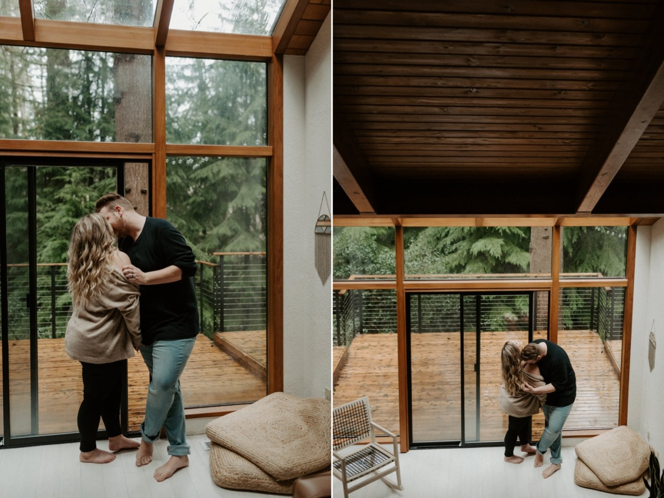 The Woodlands House Sandy Oregon In Home Session Portland Wedding Photographer Portland Elopement Photographer Anais Possamai Photography 017